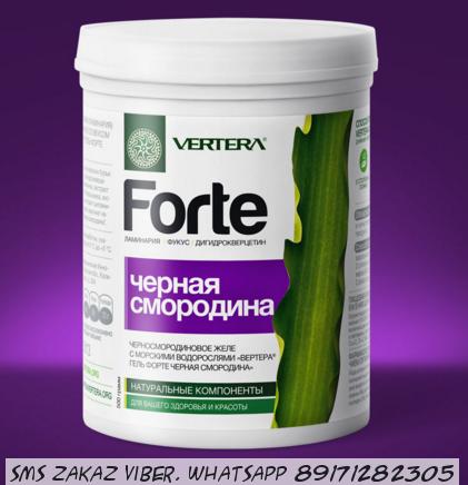 Vertera Forte гель + дигидрокверцетин смородина
